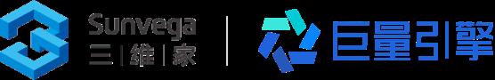 logo-三维家和巨量引擎